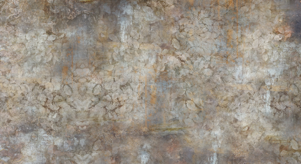 Eroded Damask , 2017, archival pigment print (photograph) on Simply Elegant Gold Fiber Paper 310gsm, edition 2/15, 33 x 59.875 inches (unframed) (image), 37.875 x 63.75 inches (unframed) (paper size), $2400. (unframed), also available in 40 x 72 inches, edition of 15, $3400. (unframed), 26.5 x 48 inches, edition of 30, $1800. (unframed)