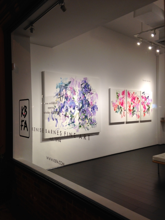 Installation view, Yolanda Sánchez and Don Swanson exhibition 2015
