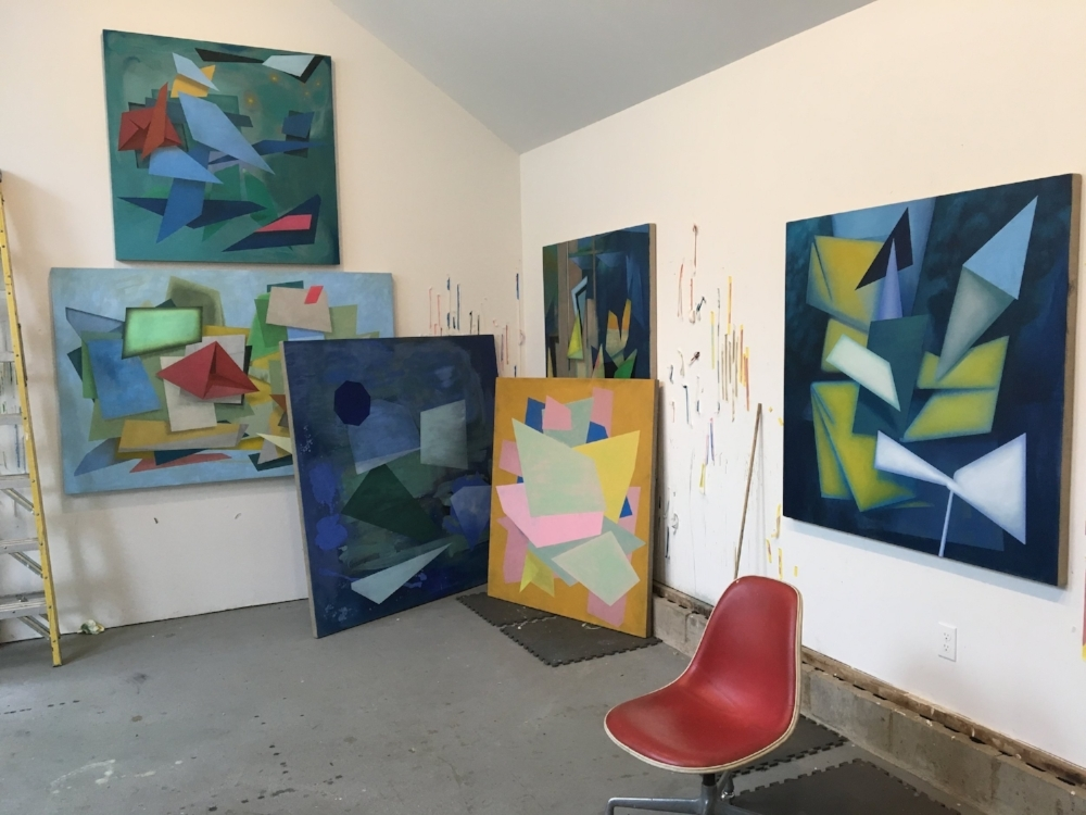 David Collins' Long Island studio
