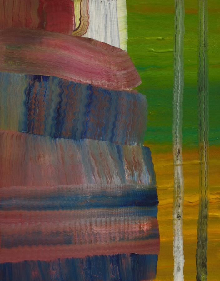 Vera , 2015, oil on panel, 14 x 11 inches, $2500.