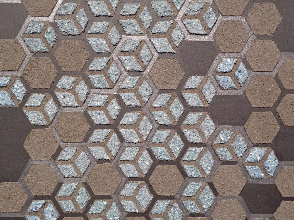 Emu Ash Honeycomb Black Paper  (detail), 2018, wood ash, emu eggshell, graphite, acrylic, polymer medium on paper, 30 x 23 inches (unframed), 33.5 x 26.5 inches (framed), $2000. (framed0