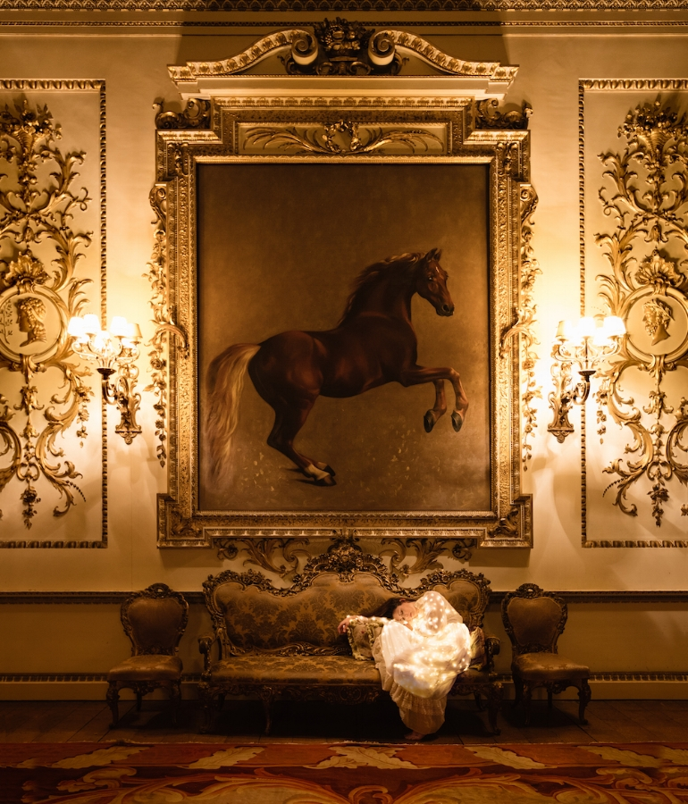 The Whistlejacket Room II ,2017,dye sublimation print on aluminum (photograph), 40 x 34 inches (unframed), 41.5 x 35.5 inches (framed), edition 1/15, $3750. (framed)