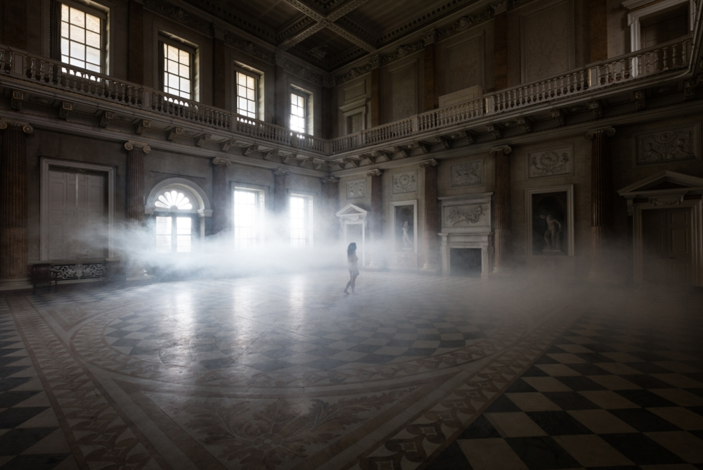 The Marble Hall , 2016, dye sublimation print on aluminum (photograph), 30 x 45 inches (unframed), 31 x 46 inches (framed), edition 1/15, $3750. (framed), also available in 24 x 36 inches, edition of 15, $2500. (unframed)