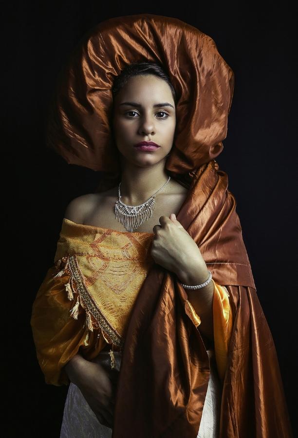 Carlos Gamez de Francisco,  Portrait of a Lady , 2018, dye sublimation print on aluminum, edition 1/8, 45 x 30 inches, $3200., also available in edition of 4, 59 x 40 inches, $4800., edition of 6, 50 x 34 inches, $3800., edition of 10, 36 x 24 inches, $2600.