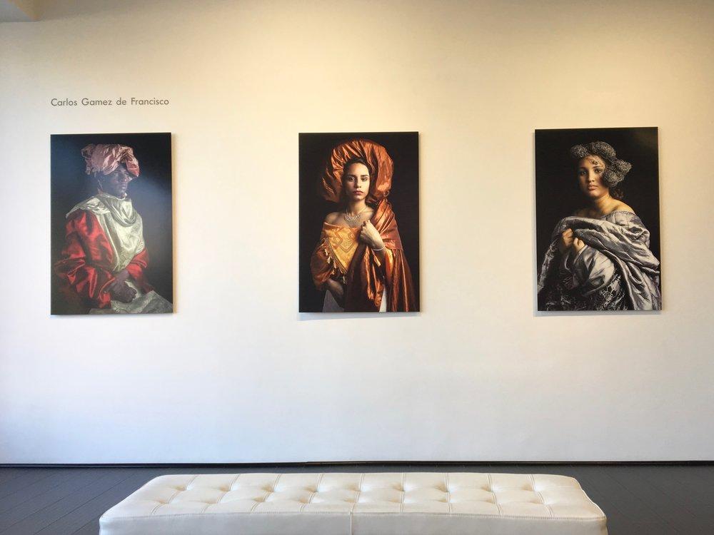 Carlos Gamez de Francisco, installation view
