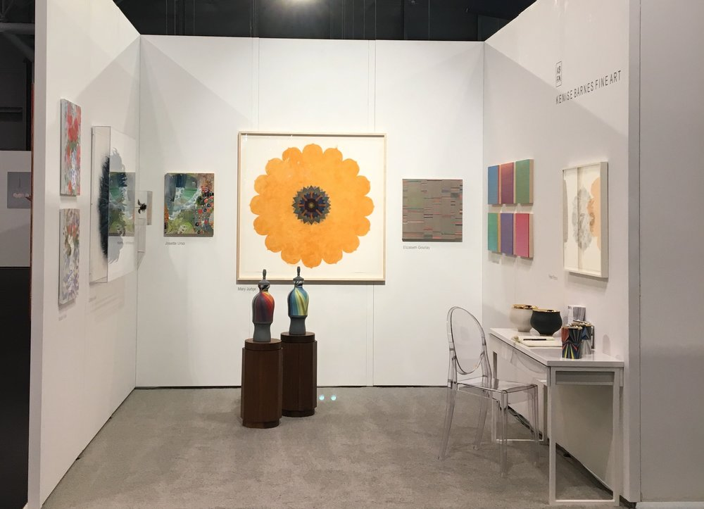 Art Fair   International Contemporary Furniture Fair (ICFF 2018)   May 20, 2018 - May 23, 2018  Jacob K. Javits Convention Center  Kenise Barnes Fine Art is pleased to present works by  Josette Urso ,  Jill Parisi ,     Mary Judge ,  Catherine Latson ,  Melanie Parke,    Peter Pincus ,  Adam Rogers ,  Michiyo Ihara,    Joanne Mattera  and  Janna Watson  at Jacob K. Javits Convention Center, May 20-23, 2018.  The 30th annual ICFF NYC is North America's platform for global design featuring what's best and what's next in design.