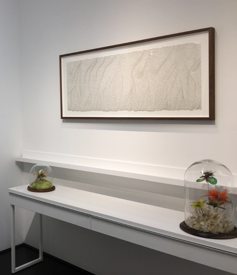 Installation view,  Contemplation and Practice  exhibition 2018