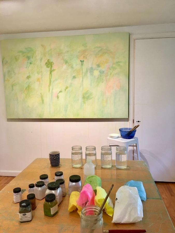 Nancy Daubenspeck's studio