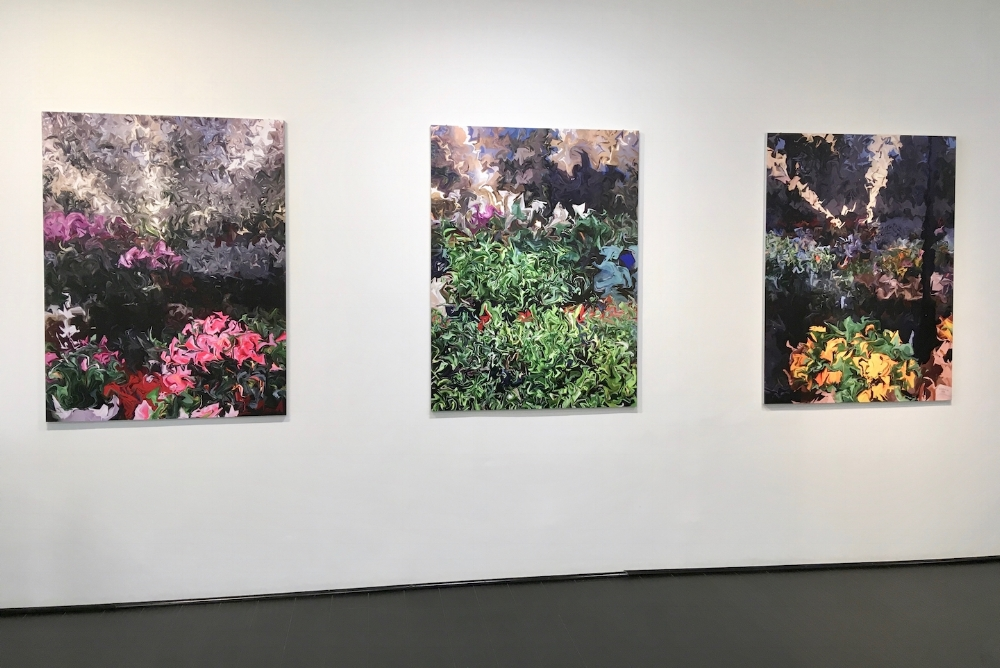 Installation view, photographs by Gary Cruz