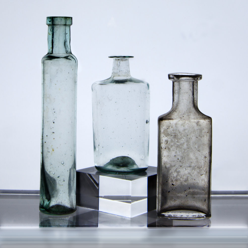 Small Bottles 8 , 2015, archival pigment print on Epson hot press bright paper mounted on sintra with UV matte coating, 32.50 x 32.50 inches (unframed), edition 1/10, $3500 (unframed)