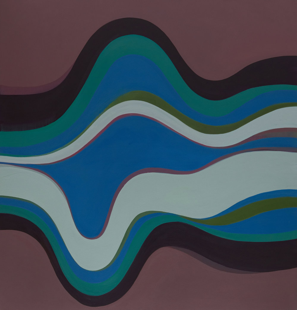 WAVELENGTH - new paintings by       Margaret Neill