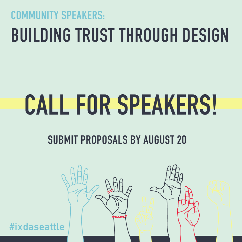 Tell us your story - To submit a lightning talk proposal please fill out the proposal form by August 20, 2018.