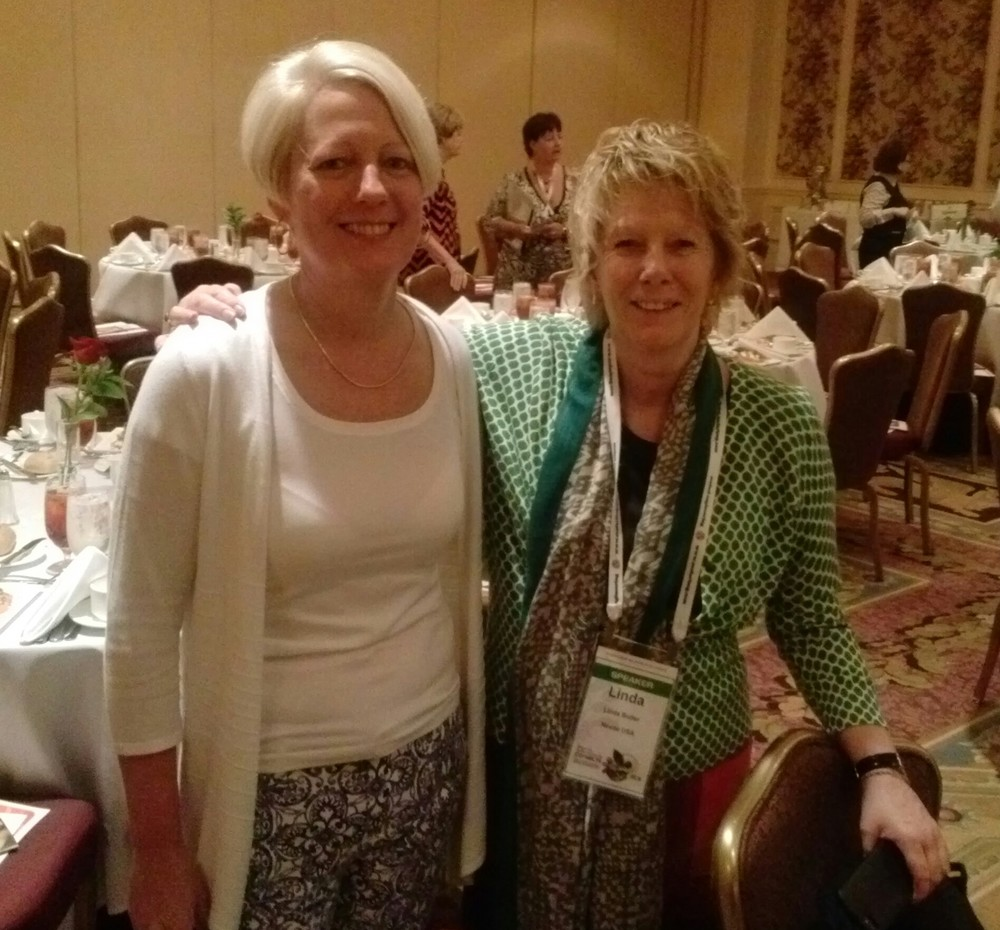 Maureen McHugh, Equator Coffees & Teas & Linda Butler, Coffee Sustainability Manager for Nestlé S.A.