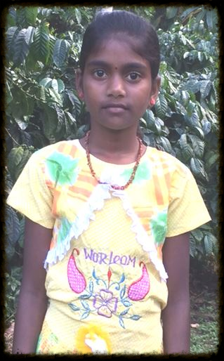 with a scholarship from iwca, Jyothi can go to school