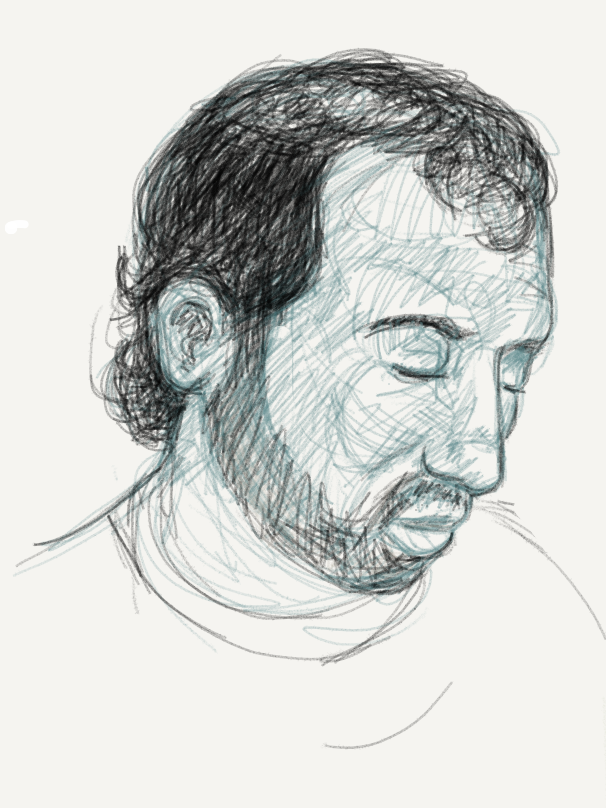I really like to sketch with Paper, but I fond the gestures too hard to remember. I started sketching random people on the subway with it and had a lot of fun. But when I made mistakes, and couldn't remember how to undo them, or doing the gestures incorrectly made the error worse.