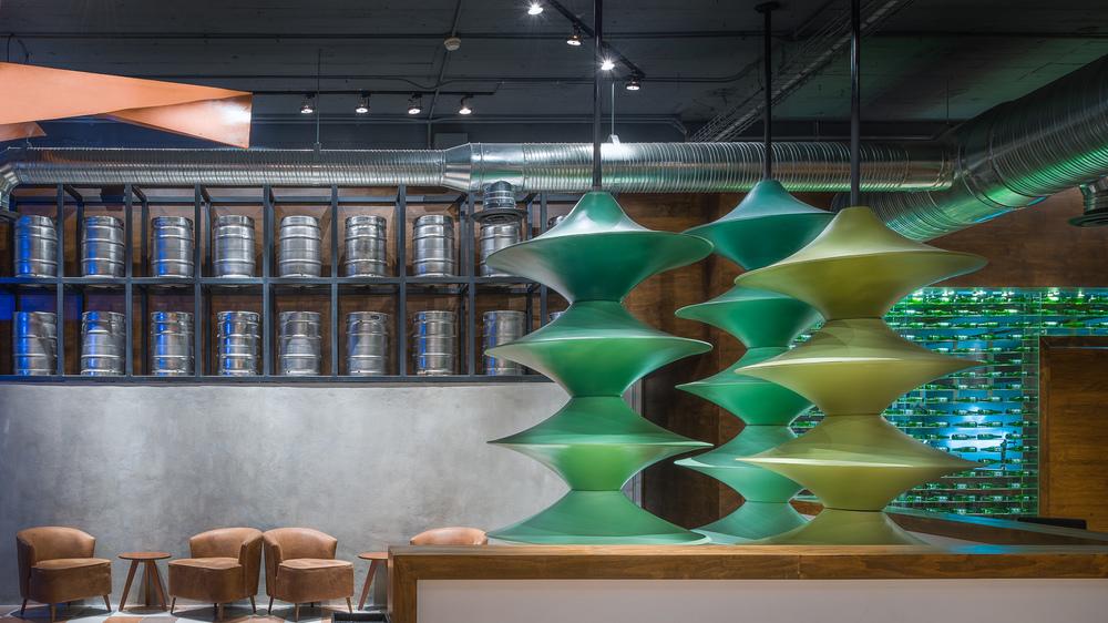 Comedor Heineken  / LOL Arquitectos / Monterrey