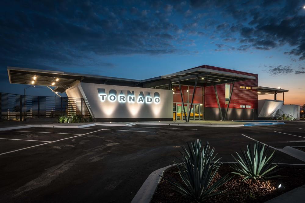 Tornado / Central de pasajeros / Nuevo Laredo