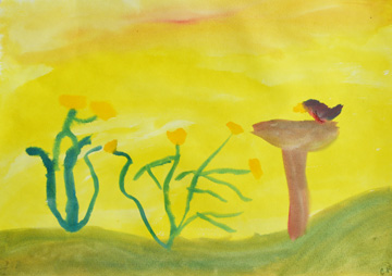 Watercolor Painting | 2nd Grade