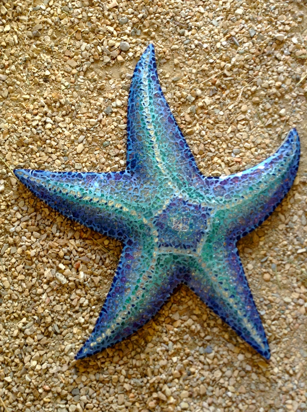 "18"" Starfish for Shower Wall"