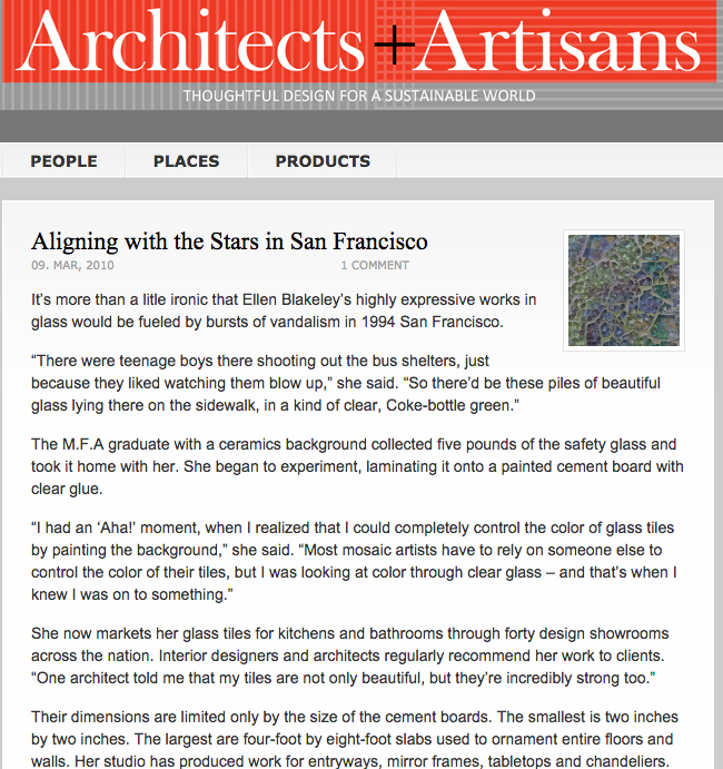 Architects + Artisans