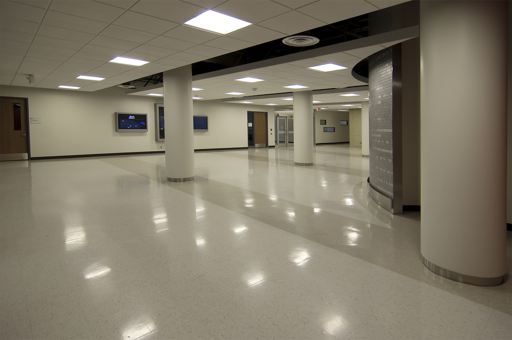 Science A - main floor circulation space
