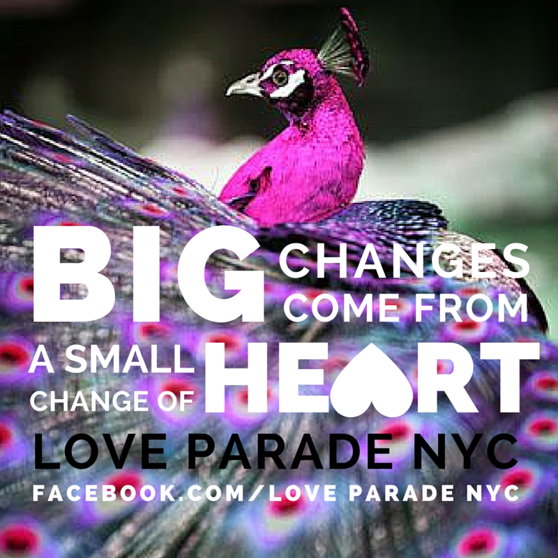 THANK YOU to everyone who supported the LOVE PARADE! We will be walking and smiling on April 26th!  We made 44% of the Indiegogo funding goal of $4,444 - which is magical. The number 4 means we are protected by angels, and they are helping! Each of you are my earth angels, because you responded to a call for love