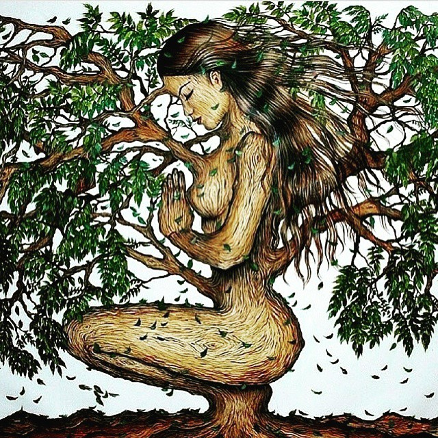 Grounded.  Mother Earth.