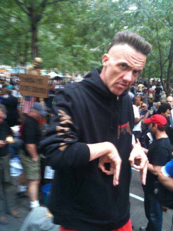 DIE ANTWOORD AT OCCUPY WALLSTREET