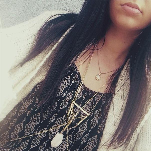 @melrosep wearing Langley