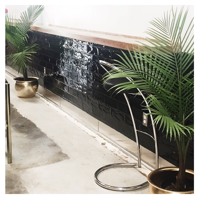 { brass & palms } what more could we want | afternoon hangs at a new local coffee shop