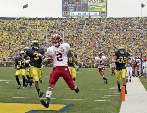 The Hoosiers will need an explosive performance, like that of Tandon Doss in 2009, if they hope to have a shot at upsetting the Wolverines in The Big House.