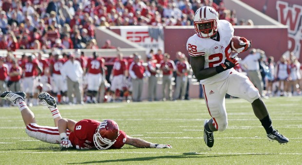 Montee Ball and the Wisconsin running backs could not be stopped on Saturday in Bloomington