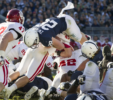 Indiana had no answers for a Penn State offense that posted more than 500 yards on the day
