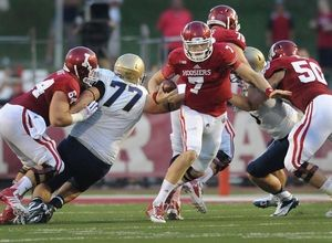 Nate Sudfeld and the Hoosier offense couldn't overcome a 17-0 hole in a 41-35 loss to Navy