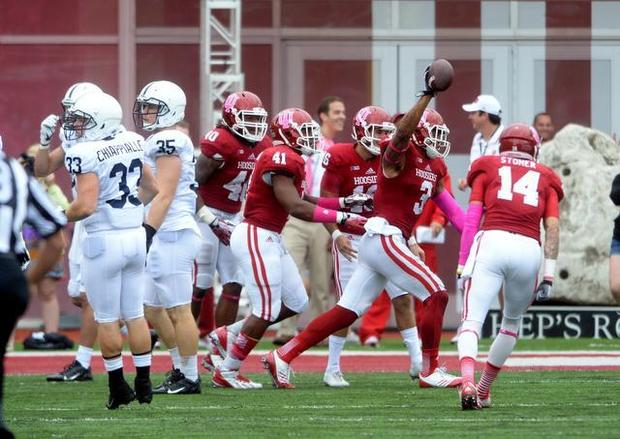 Indiana came up with the big plays in their 44-24 victory over Penn State