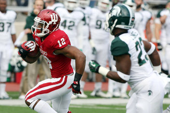 It will be tough sledding for Stephen Houston and the Hoosier offense in East Lansing on Saturday