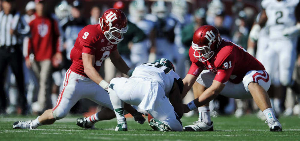 Indiana's defense will be out to create turnovers against the Spartans
