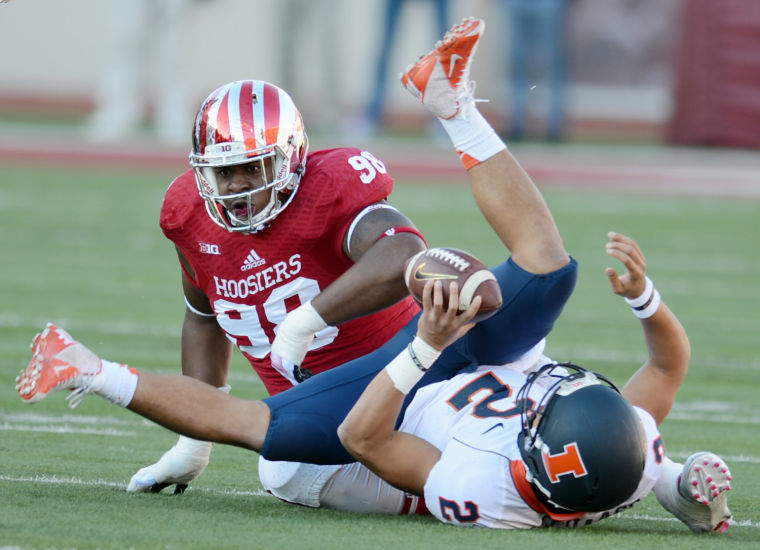The Hoosiers sacked the Illini's shot at ending their 18 game conference losing streak.