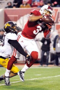 Indiana's Cody Latimer set new career highs in receptions and yards in a 52-35 win against Illinois