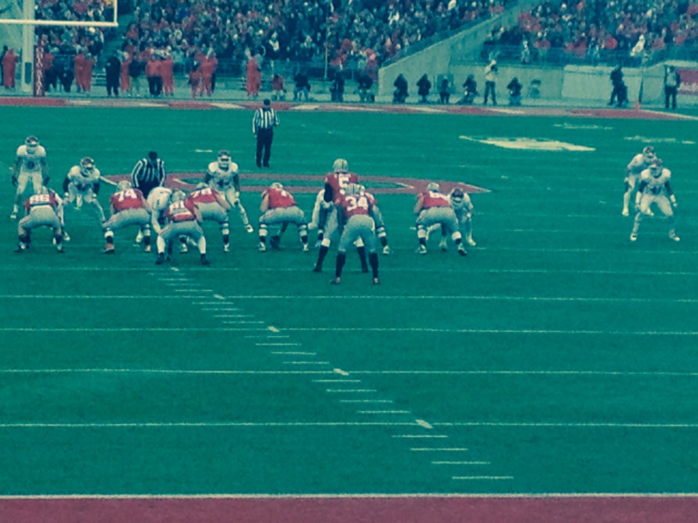 Braxton Miller leading the Buckeye offense