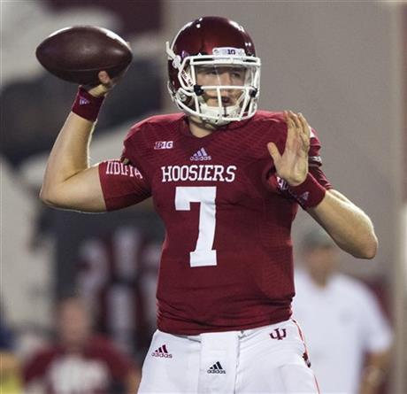 Nate Sudfeld is poised to have a strong final game for the Hoosiers