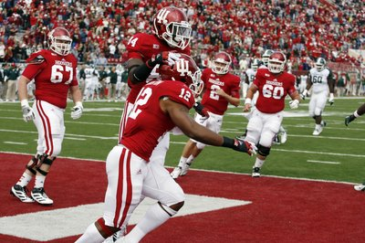 Stephen Houston and the Hoosiers offense were just one of many bright spots for IU in 2013