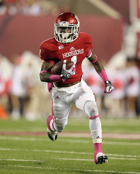 Shane Wynn will lead a new group of Hoosiers receivers in 2014.