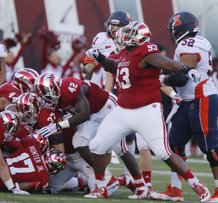 Raphael Green and the young Hoosier defense look to become a respectable defense in 2014