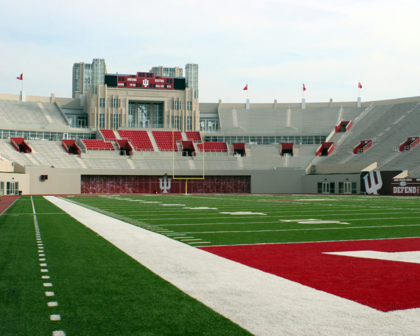 Indiana has shown that it is willing to put money into the football program