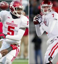 The Hoosiers have yet to name a starting quarterback