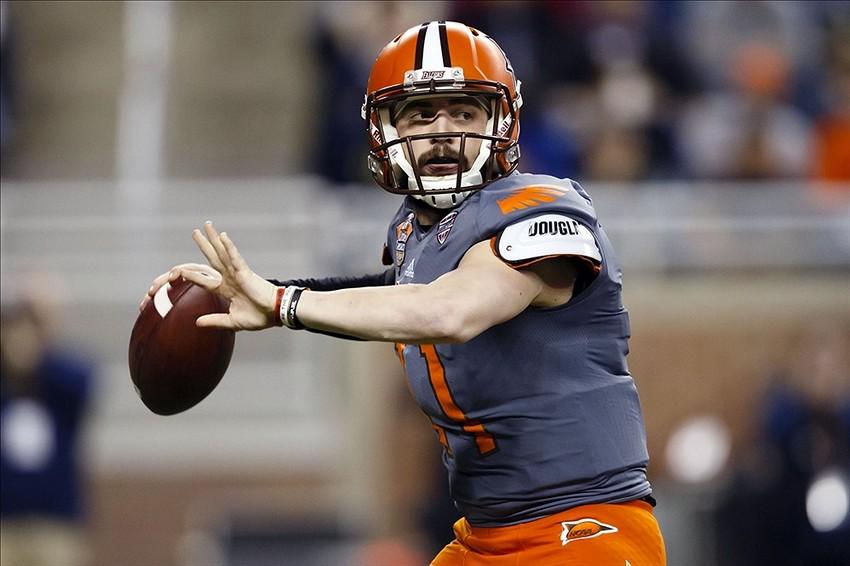 Matt Johnson leads the BGSU Falcons offense that looks for a second straight MAC Title