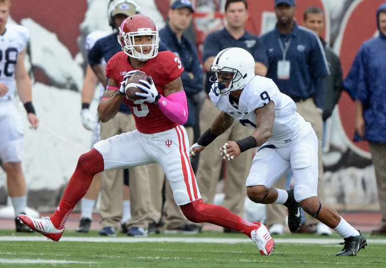Cody Latimer and the Hoosiers put up 44 points and won for the first time against Penn State
