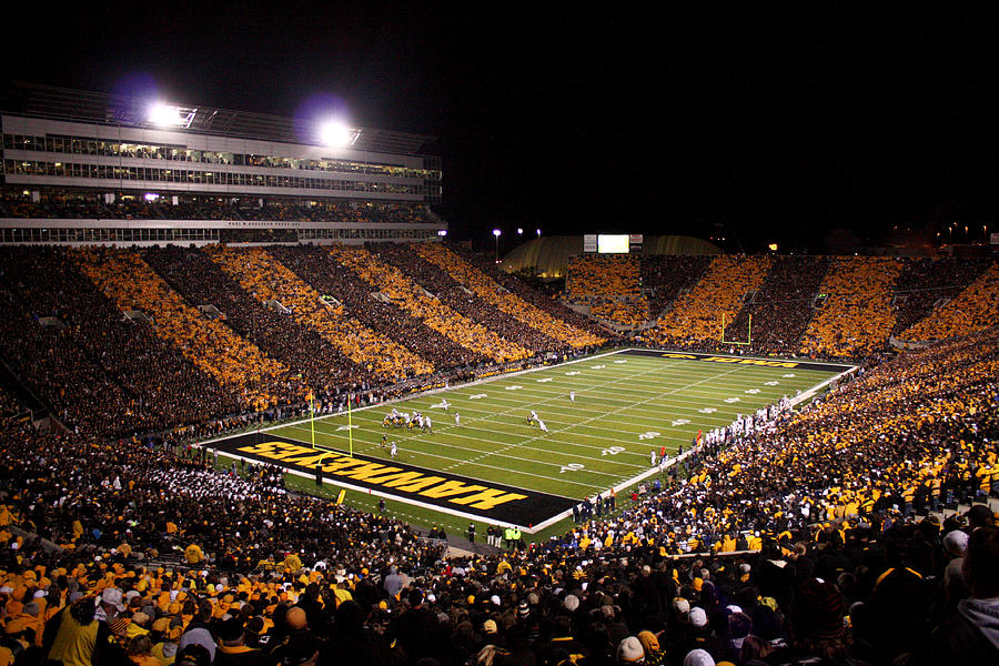 Kinnick Stadium will be a hostile environment when the Hawkeyes host the Hoosiers for Homecoming.