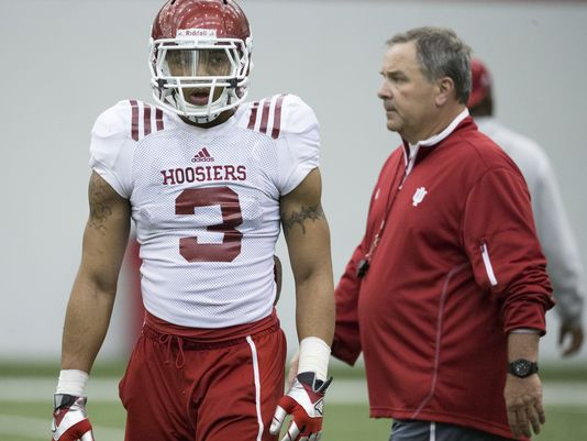 Dominique Booth leads a talented group of freshman who can be major players for the Hoosiers in 2014   (image source: Indy Star)